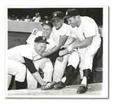 "1961 NEW YORK YANKEES ""PICKED TO PLAY IN ALL-STAR GAME"" ORIGINAL UPI WIRE PHOTOGRAPH"