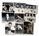 LOT OF (9) WHITEY FORD ORIGINAL PHOTOGRAPHS