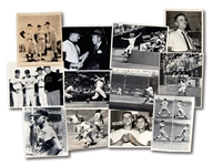 LOT OF (12) ROGER MARIS 1960S ORIGINAL PHOTOGRAPHS