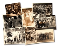 LOT OF (8) 1920S-30S YANKEES EXECUTIVES AND DIGNITARIES ORIGINAL PHOTOGRAPHS