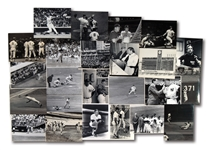 LOT OF (24) 1970S-80S NEW YORK YANKEES ORIGINAL PHOTOGRAPHS – MOSTLY BY LOUIS REQUENA