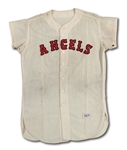 1962 JOE KOPPE LOS ANGELES ANGELS GAME WORN HOME JERSEY
