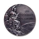 1932 LOS ANGELES SUMMER OLYMPIC GAMES 2ND PLACE WINNERS SILVER MEDAL