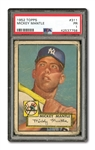 1952 TOPPS #311 MICKEY MANTLE PSA PR 1