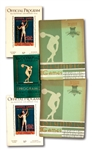 1932 LOS ANGELES OLYMPICS LOT OF (5) PROGRAMS INCL. (2) OFFICIAL, (2) SOUVENIR & (1) ANCIENT-MODERN EVENTS RECORDS