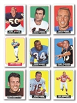 1964 TOPPS FOOTBALL COMPLETE SET OF (176)
