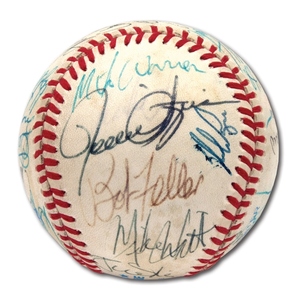 NO-HIT GAME PITCHERS MULTI-SIGNED BASEBALL