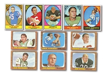 1966 AND 1967 TOPPS FOOTBALL COMPLETE SETS