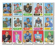 1968 AND 1969 TOPPS FOOTBALL COMPLETE SETS