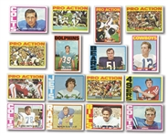 1972 TOPPS FOOTBALL COMPLETE SET OF (351)