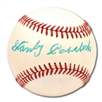 STANLEY COVELESKI SINGLE SIGNED BASEBALL - MEMBER OF 1928 W.S. CHAMPION YANKEES (PINSTRIPE DYNASTY COLLECTION)