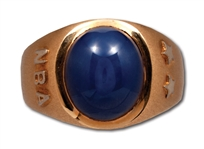 RED HOLZMANS 1971 NBA ALL-STAR GAME 14K GOLD RING (HOLZMAN COLLECTION)