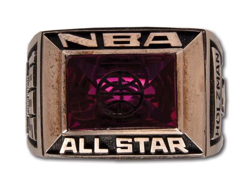 RED HOLZMANS 1985 NBA ALL-STAR GAME RING (HOLZMAN COLLECTION)
