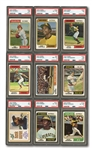 1974 TOPPS BASEBALL NEAR COMPLETE SET (595/660) PLUS (356) DUPLICATES INCL. MULTIPLES OF HOFERS AND STARS (951 TOTAL)