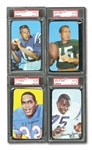 1970 TOPPS SUPER FOOTBALL COMPLETE SET RANKED #1 CURRENT & ALL-TIME FINEST ON PSA REGISTRY