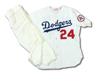 1976 WALTER ALSTON LOS ANGELES DODGERS GAME WORN HOME FULL UNIFORM (ALSTON COLLECTION)