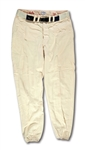 1966 DON DRYSDALE LOS ANGELES DODGERS GAME WORN HOME PANTS (DRYSDALE COLLECTION)