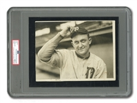 1915 TY COBB UNDERWOOD & UNDERWOOD ORIGINAL 7x9 PHOTOGRAPH (PSA/DNA TYPE I)