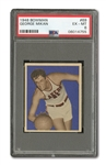 1948 BOWMAN BASKETBALL GEORGE MIKAN ROOKIE PSA EX-MT 6