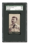 1895 MAYOS CUT PLUG N300 JOHN MONTGOMERY WARD (2ND BASE) SGC 70 EX+ 5.5 - STANDS ALONE AS HIGHEST GRADED!