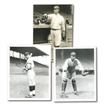 "C. 1920 HAROLD ""MUDDY"" RUEL TRIO OF PHOTOGRAPHS INCL. CHARLES CONLON EXAMPLE (PINSTRIPE DYNASTY COLLECTION)"