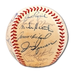 1978 NEW YORK YANKEES WORLD CHAMPIONS TEAM SIGNED OAL (MacPHAIL) BASEBALL INCL. MUNSON