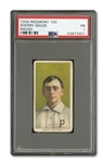 "1909-11 T206 SHERRY MAGEE ""MAGIE"" ERROR PSA PR 1 - THE HOBBYS MOST FAMOUS ERROR CARD WITH TERRIFIC EYE APPEAL!"