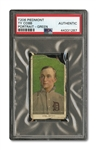1909-11 T206 TY COBB (GREEN PORTRAIT) - PSA AUTHENTIC