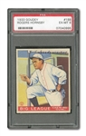 1933 GOUDEY #188 ROGERS HORNSBY PSA EX-MT 6