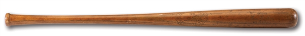 1928-30 LOU GEHRIG GAME USED HILLERICH & BRADSBY PROFESSIONAL MODEL BAT (PSA/DNA GU 7.5)