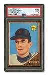 1962 TOPPS #199 GAYLORD PERRY ROOKIE PSA MINT 9 (NONE HIGHER)