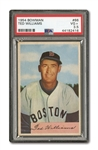 1954 BOWMAN #66B TED WILLIAMS PSA VG+ 3.5
