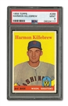 1958 TOPPS #288 HARMON KILLEBREW PSA MINT 9 (NONE HIGHER)