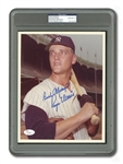 ROGER MARIS BEAUTIFULLY SIGNED AND INSCRIBED 8x10 PHOTO (PSA/DNA GEM MINT 10)