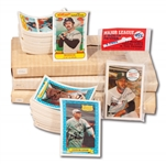 1974, 1978, 1979*, 1980*, 1982*, 1972 & ATG KELLOGGS BASEBALL COMPLETE SETS PLUS 49 CENT UNOPENED AND 1970 CELLO PACK (*FACTORY SEALED)