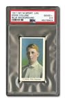 1910-11 M116 SPORTING LIFE EDDIE COLLINS (BLUE BACKGROUND) PSA GD+ 2.5