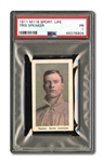 1910-11 M116 SPORTING LIFE TRIS SPEAKER (PASTEL BACKGROUND) PSA PR 1