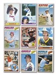 1977, 1978, 1979, 1981 AND 1983 O-PEE-CHEE BASEBALL COMPLETE SETS (5 TOTAL)