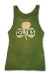 "C. 1923-25 JOE LAPCHICK NEW YORK ""ORIGINAL CELTICS"" GAME WORN JERSEY - THE FINEST PRE-WAR BASKETBALL JERSEY EXTANT! (MEARS A9, EXCELLENT PROVENANCE)"