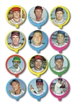 1973 TOPPS CANDY LIDS COMPLETE SET OF (55)