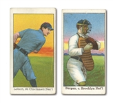 1909 E92 DOCKMAN & SONS E92 LOT OF (2)