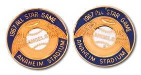 1967 MLB ALL-STAR GAME (ANGELS STADIUM) CUFFLINKS
