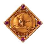 1920S/EARLY 30S JIM BOTTOMLEY ST. LOUIS CARDINALS 10K GOLD LAPEL PIN (EX-BOTTOMLEY ESTATE)