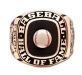 1970 FORD C. FRICK BASEBALL HALL OF FAME INDUCTION 10K GOLD RING