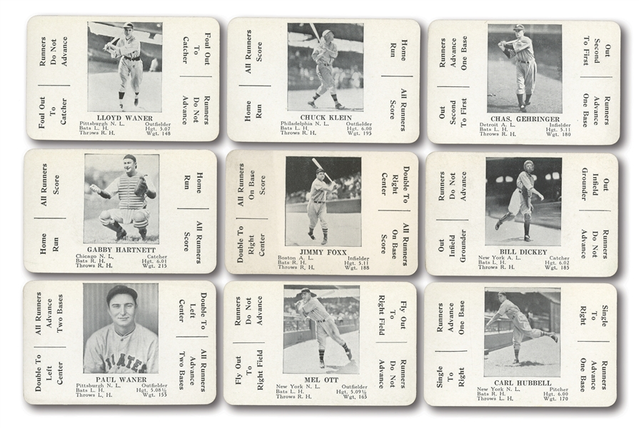 1936 S AND S GAME COMPLETE SET OF (52) PLUS BOTH DIRECTIONS AND CONTEST CARD/SLIP