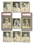 1939 PLAY BALL NEAR COMPLETE SET (159/161) PLUS 20 BACK VARIATIONS INCL. PSA GRADED DiMAGGIO PSA EX 5 & TED WILLIAMS RC PSA VG 3