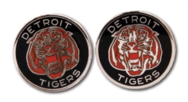 1968 DETROIT TIGERS WORLD SERIES CHAMPIONS STERLING SILVER CUFFLINKS