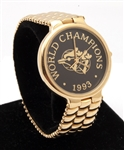 1993 TORONTO BLUE JAYS WORLD SERIES CHAMPIONS PORFOLIO WATCH BY TIFFANY & CO.