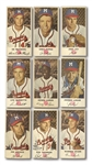 1954 JOHNSTON COOKIES COMPLETE SET OF (35)