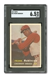 1957 TOPPS #35 FRANK ROBINSON ROOKIE SGC EX-MT+ 6.5